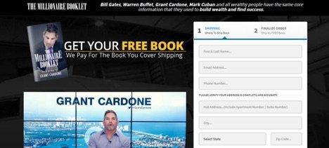 Grant Cardone sells