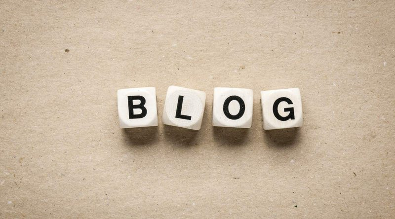 "Image with the word ""Blog"""