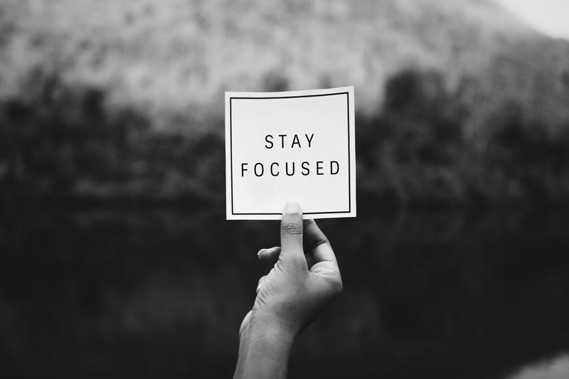 Stay Focused, Don't Fall Asleep, Yet.