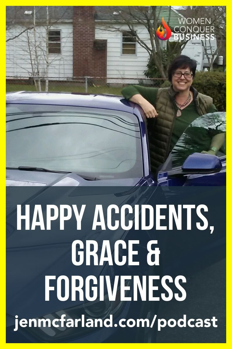 Happy Accidents, Grace & Forgiveness