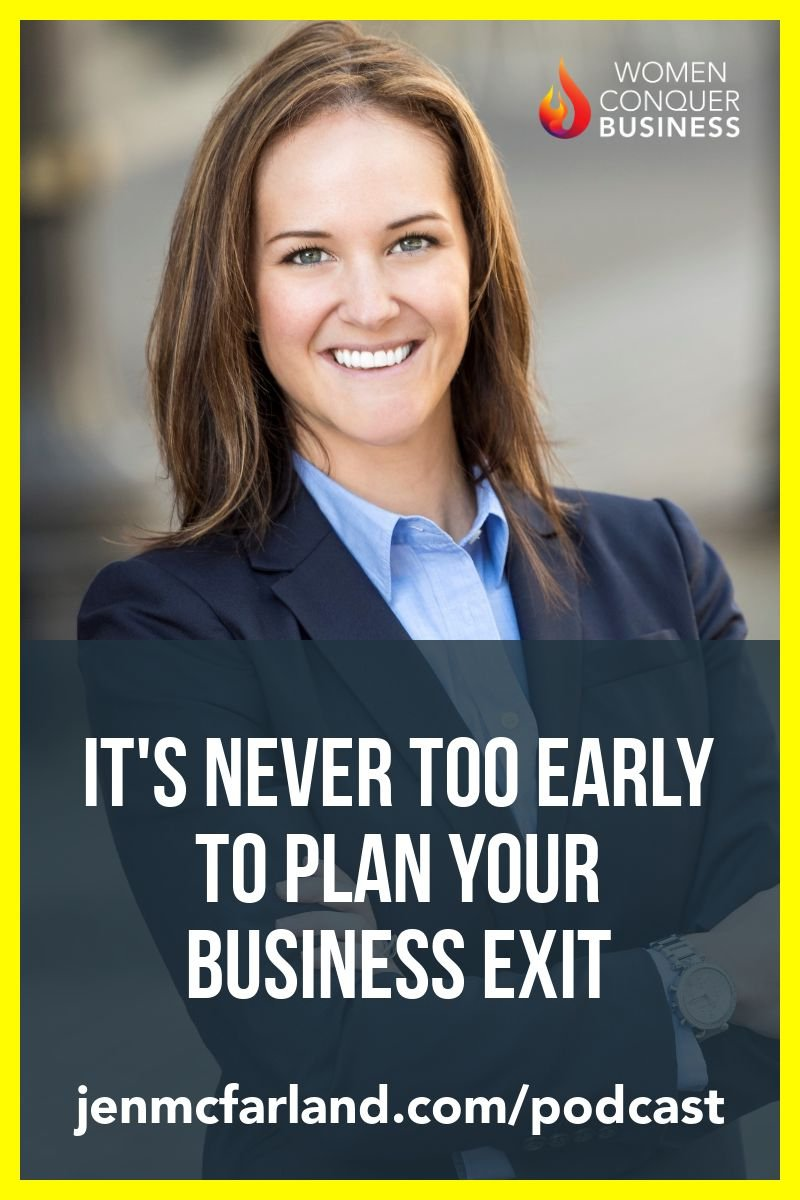 business exit expert Ashley Micciche