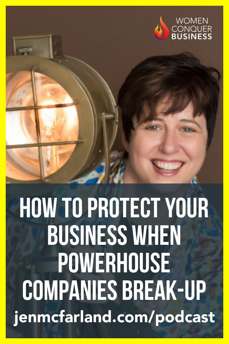 How to Protect Your Business When Powerhouse Companies Break-up