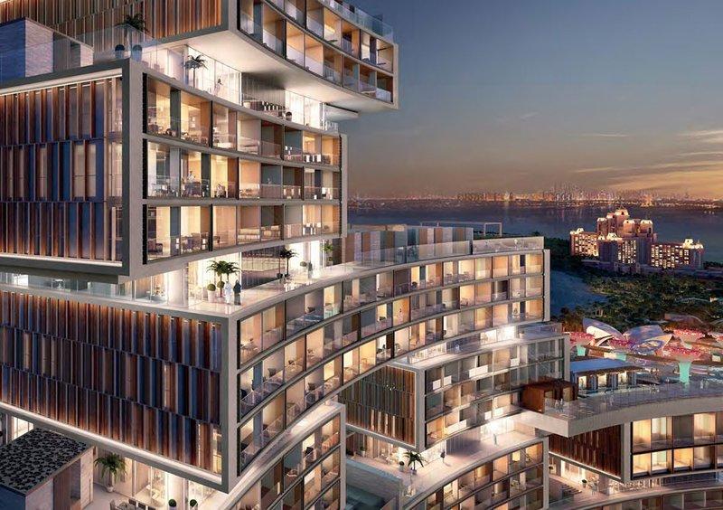 résidences en front de mer : The Royal Atlantis Residences