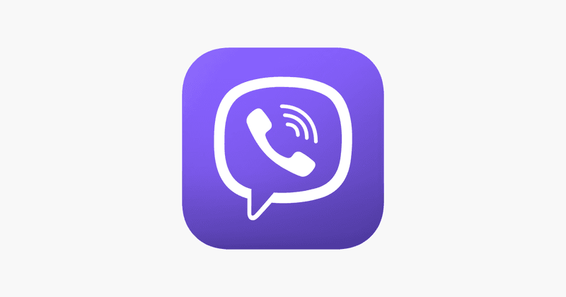 This is an image of a Viber Logo.