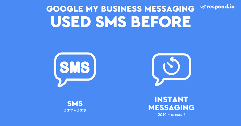 Before November 2018, visitors were able to send an SMS to your business and it would show up on your GMB account dashboard. However, in March 2019 Google removed SMS messaging and introduced the new Google My Business app.