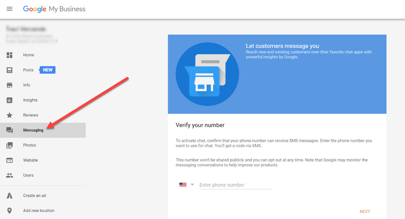 Customers can now send text messages to companies through Google My Business. This is a great way to connect directly with people interested in what your business has to offer. To get started with Messaging, log in to your GMB dashboard and click on the Messaging panel and select the business number you would like to verify.
