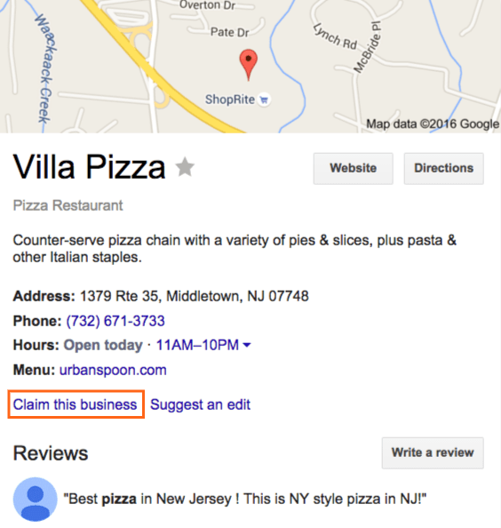 When you create a new business profile through a Google account, you are claiming your business under the given name and address of your choice. You can select if you want your business location to appear on Google Maps or have it remain private. If your business already has a listing on Google Maps there is an option to Claim this business. Once you select a business category and provide a company phone number or website URL, you can proceed to the verification process and start managing your account. Google also requires you to verify your ownership of the business. You must submit a verification form with your business name. It can take up to a week for Google to review and process your request.