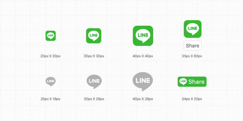 You can share your Line@ account through your website by creating Line Social Plugins.
