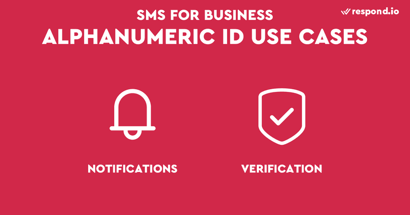 This is an image showing the uses cases of alphanumeric sender ID. Alphanumeric IDs cannot receive direct SMS replies, but they are perfect for sending 1-way broadcast messages including mass alerts, verifications, notifications and marketing messages. Please note that SMS carriers generally don't allow gambling or adult content. Contact us to learn how bulk SMS works, and how sms boosts business communication?