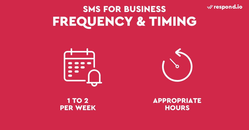 This is an image on the frequency and timing of marketing.  Your customers are more likely to opt-out if they are bombarded with promotional every day. We recommend limiting the frequency of broadcasts to once or twice a week.