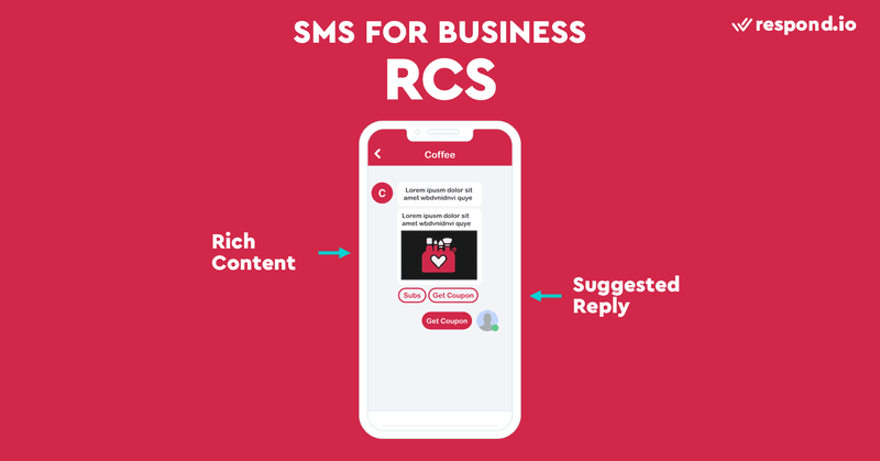 This is an image of the screenshot of RCS messaging. To compete with feature-rich messaging apps, carriers have become incentivized to improve SMS in the form of Rich Communication Services (RCS). RCS messaging is the next-generation texting protocol available on Android devices. Although the idea came out in 2007, it was in 2019 that Google took charge of its rollout. RCS offers all the advanced features of modern messaging apps but like SMS, RCS messages are not encrypted. Plus, it's not widely available. This is why RCS is not as popular as SMS business.