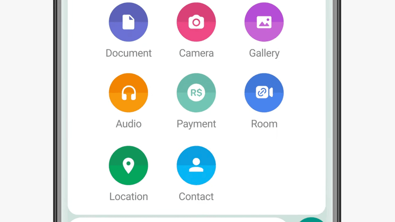 This image shows where to find the Payment option.