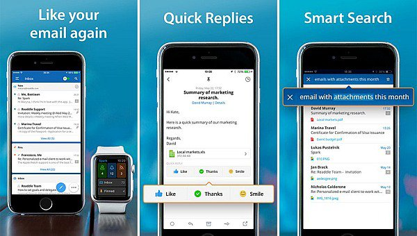 Spark, It can be used for instant messaging for business.