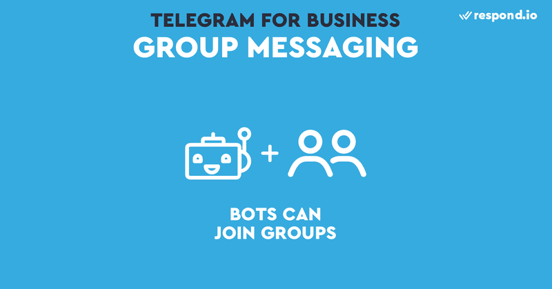 Group messaging is possible using a Telegram Bot as your Telegram Business Account.