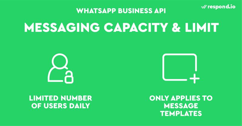 El límite de mensajes no se aplica al número de mensajes enviados en respuesta a un mensaje iniciado por un usuario en un plazo de 24 horas (Mensajes de sesión). Sólo se limitará el número de usuarios a los que se intenta enviar un mensaje y los mensajes de notificación (Mensajes de plantilla).