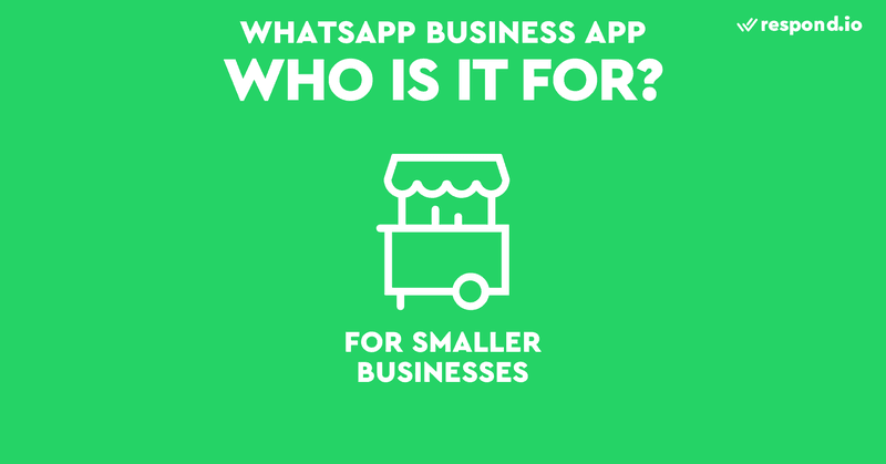 The WhatsApp Business App is a business messaging app for small businesses. Although similar to WhatsApp, it has few additional features to help businesses chat with customers. The WhatsApp Business App is available on Android and iOS.