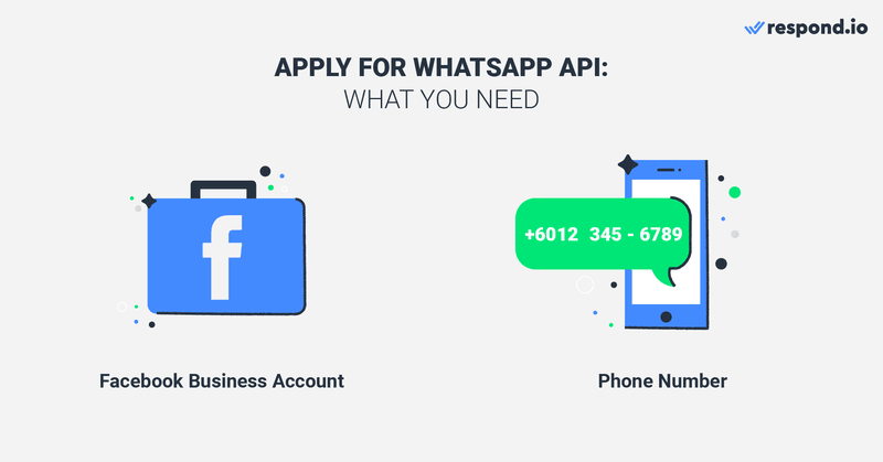 Here's what you can expect when signing up with 360dialog. All you need is to link your Facebook Business Account and bring a phone number. The process takes only a few minutes and your WhatsApp API account is ready.