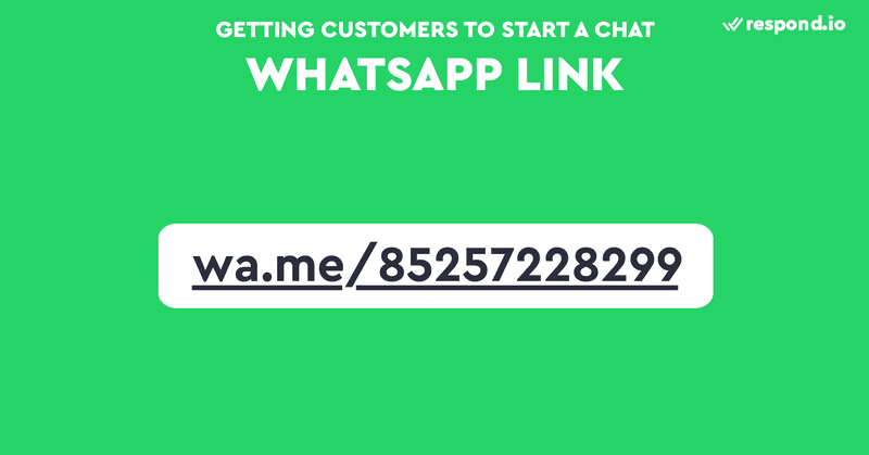 This is an image of WhatsApp Link (WhatsApp URL). Click to chat WhatsApp lets you begin a chat with someone without having their phone number saved in your phone's address book. A WhatsApp Link always begins with wa.me/ followed by your WhatsApp number. Check out our blog post to learn how to create a WhatsApp URL link with a WhatsApp link generator, and how to use a WhatsApp Widget