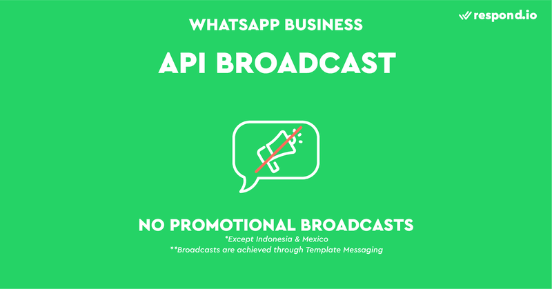 To protect contacts from receiving spam and to ensure WhatsApp becomes a premier customer service platform, WhatsApp does not really promote API Broadcasts.  The only conceivable way of sending a broadcast with the API is to use Template Messages.