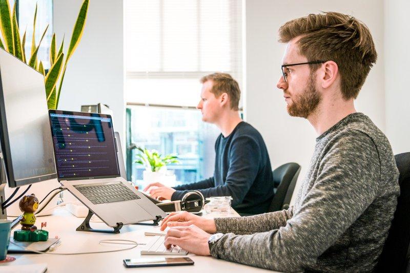 Developers working hard