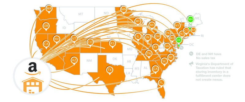Amazon Fulfilment Centers