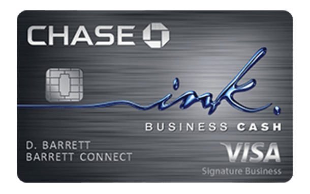 5. Chase Ink Business Cash Credit Card Amazon Seller