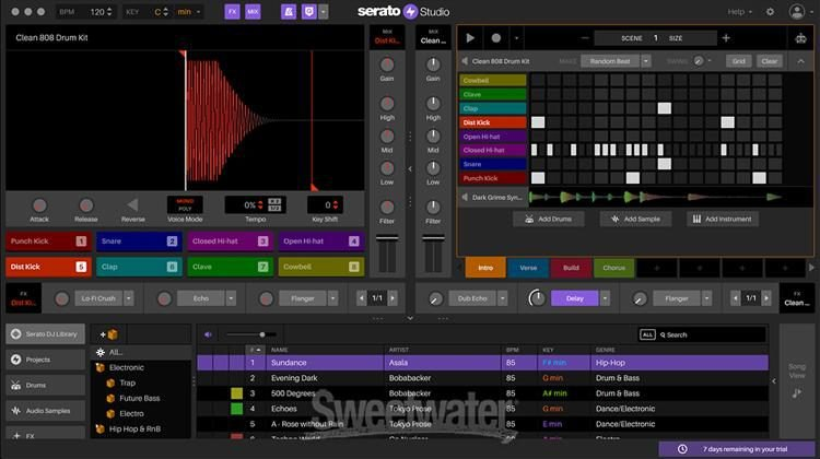 Serato Studio - A New Music Production DAW With A Step Sequencer