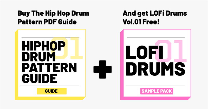 hip hop drum pattern guide plus lofi drums volume 01
