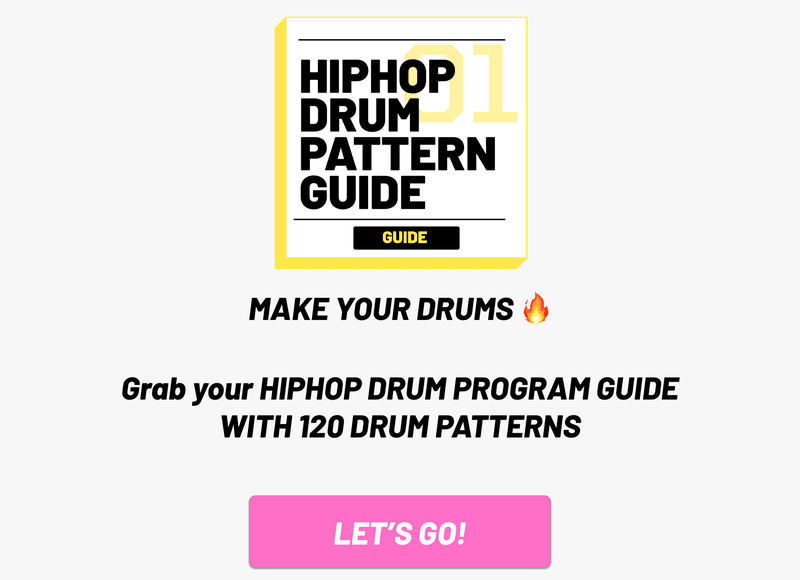 make your drums fire with the hip hop drum pdf guide
