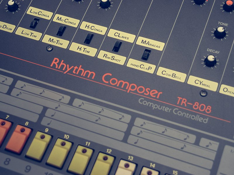Roland TR-808 Rhythm Composer - Load up Your Drum Sample Pack