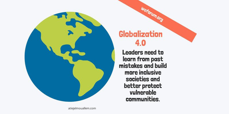 Globalisation 4.0 - Davos WEF 2019