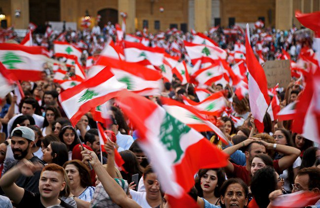 October revolution in Lebanon