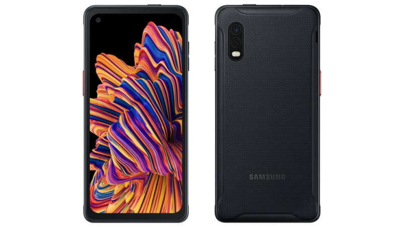 Samsung XCover Pro front and back