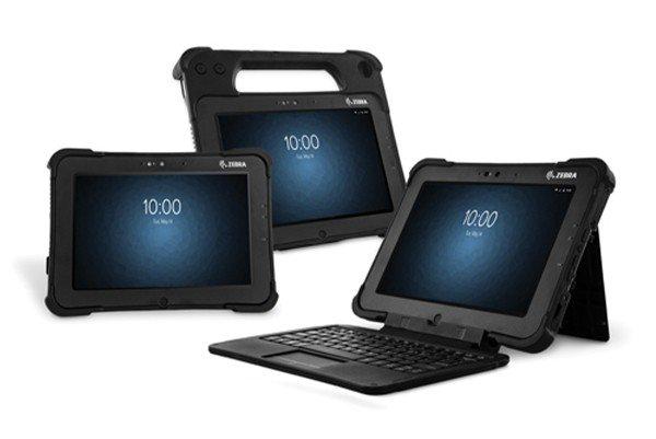 Zebra L10 range of rugged Android tablets