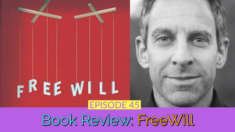 Freewill By Sam Harris Thumbnail