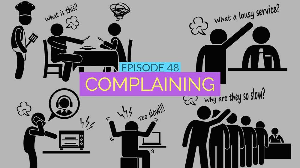 Complaining Thumbnail