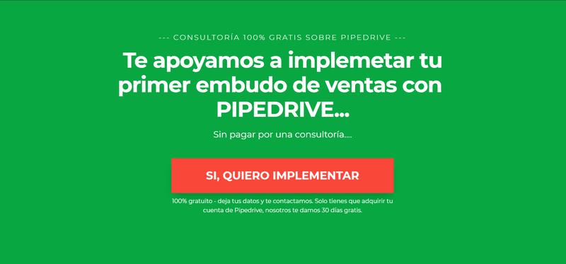 Implementar Pipedrive gratis