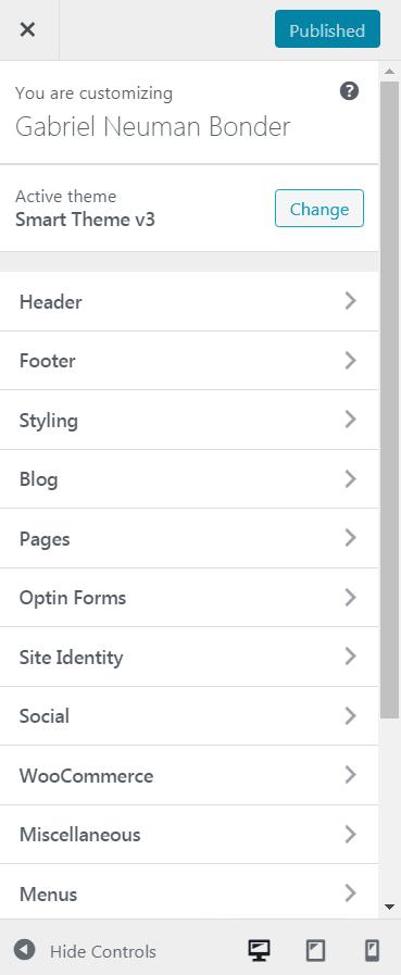 Que puedes Personalizar en WordPress