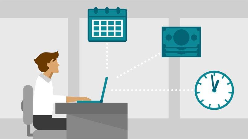 Freelancer trabaja a la hora que quiere