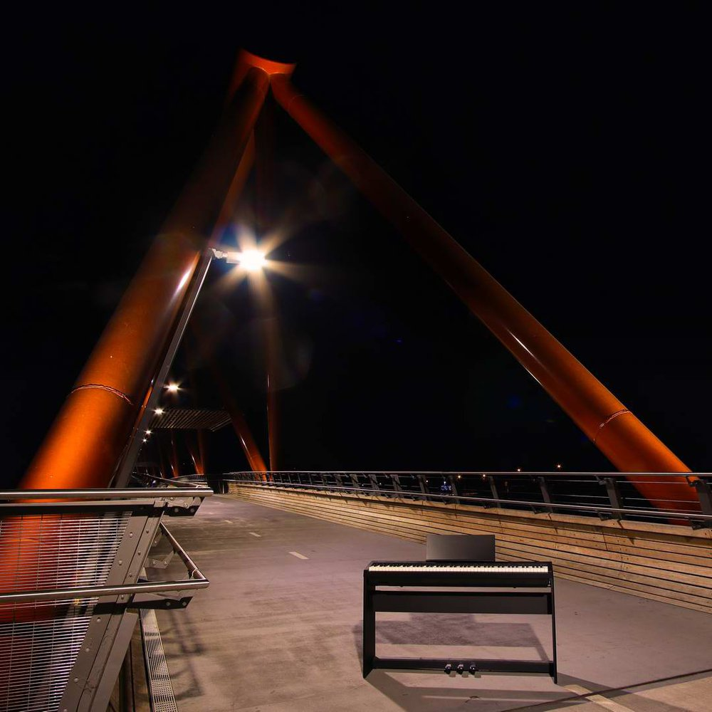 Roland FP-30, Yandhai Bridge, Penrith.