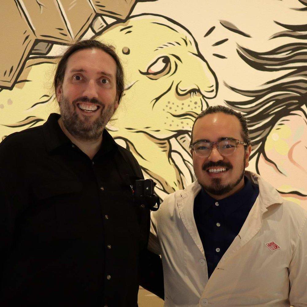 Stephen with Adam Liaw, Presenter & Chef