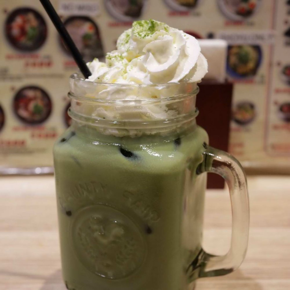 Matcha milkshake - it doesn't get much better than this!