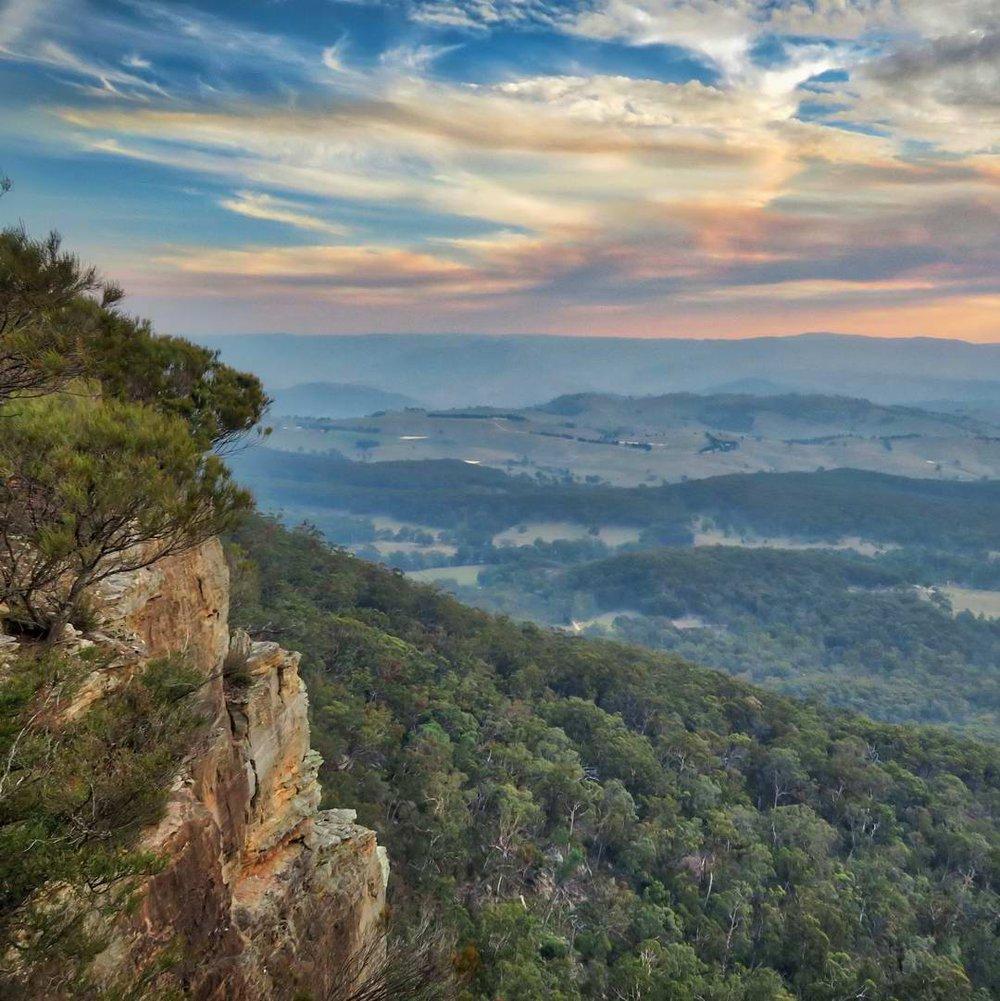 Sunset, Mt Blackheath, NSW.