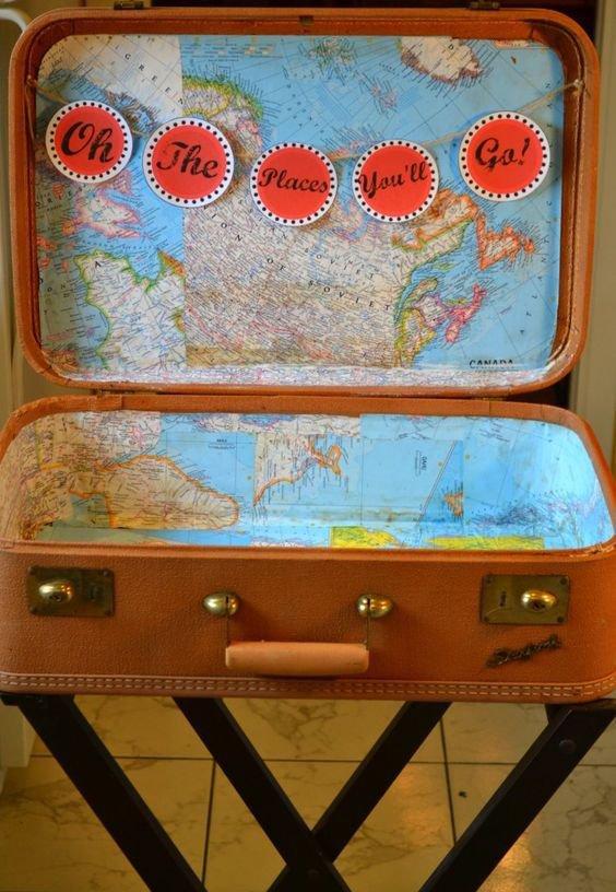 communiefeest thema reis rond de wereld