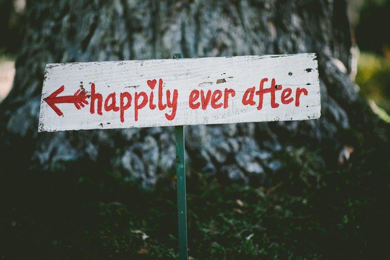 Huwelijkstradities: happily ever after
