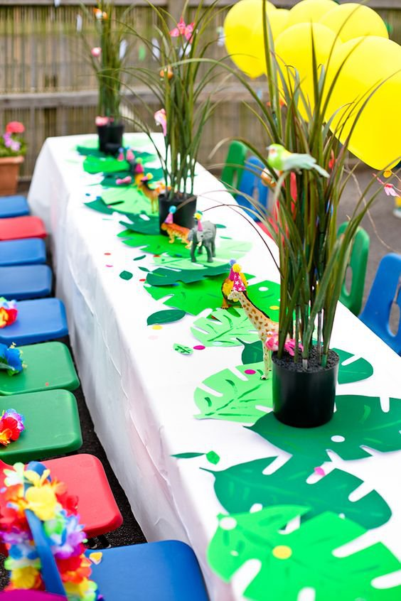 communiefeest thema jungle