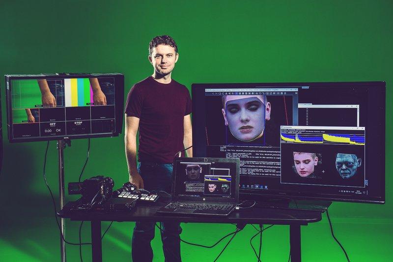 Chris Umé, deepfake special effects artiest .