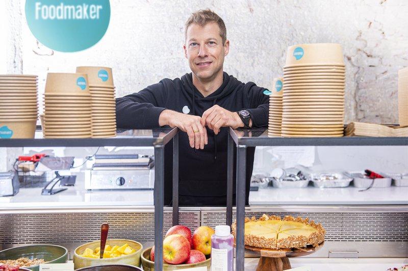 CEO van Foodmaker Lieven Vanlommel