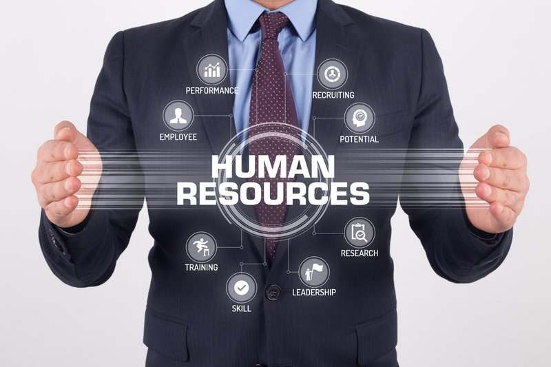 HUMAN RESOURCES TECHNOLOGY COMMUNICATION TOUCHSCREEN FUTURISTIC CONCEPT