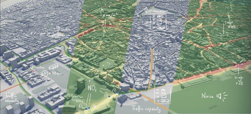 Analyses, simulaties en voorspellingen worden gemaakt binnen de context van een digital twin